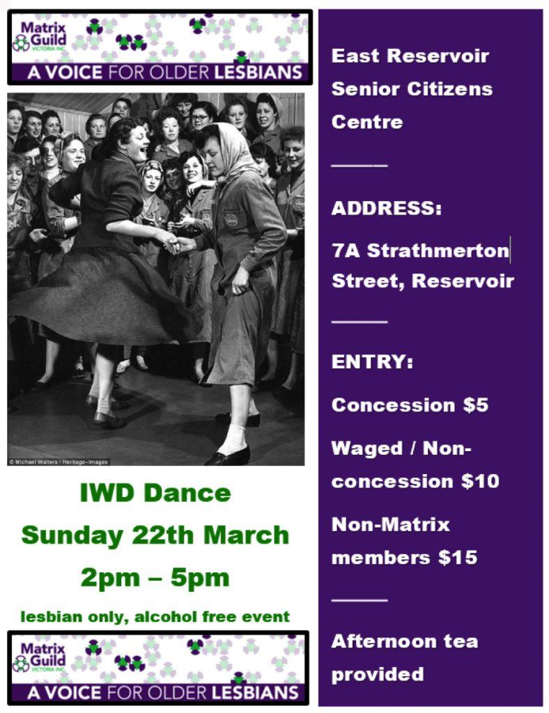 Matrix Guild Dance