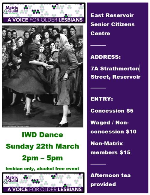 IWD Dance